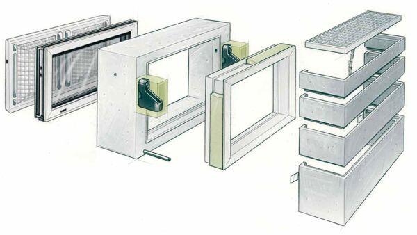 Kellerfenstersysteme und Lichtschachtsysteme